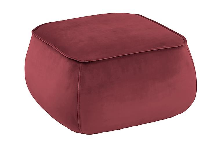 mie Fodskammel - Rød - Boligtilbehør - Små møbler - Fodskammel