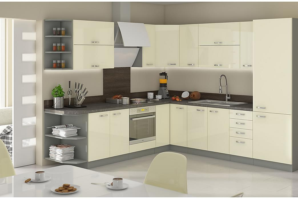 Karmen Køkkenmøbelsæt - Møbler - Møbelsæt - Møbelsæt til køkken & spisestue