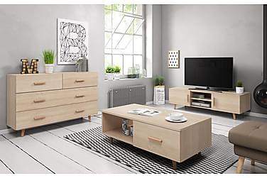Danderyd Stuepakke TV-bord+Skænk+Sofabord