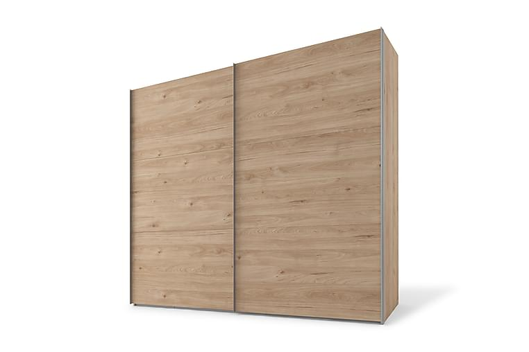 Bonnye Garderobe 150 cm - Brun - Møbler - Opbevaring - Garderobeskabe