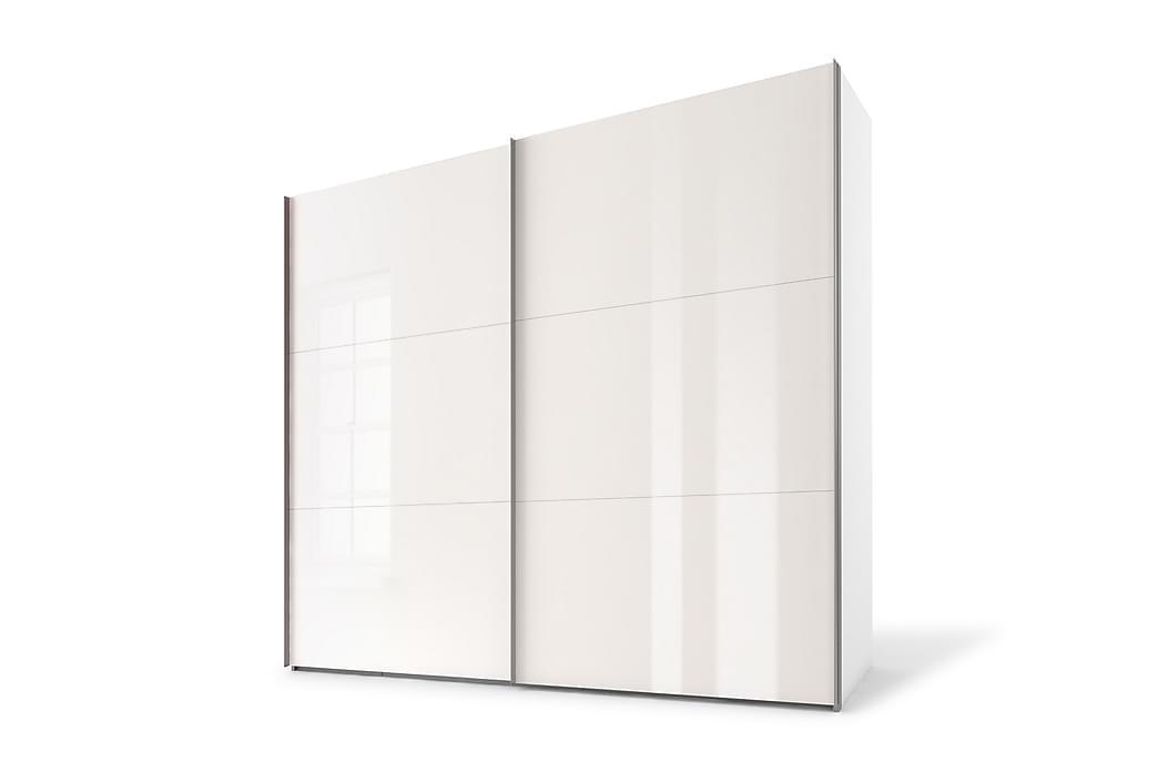 Bonnye Garderobe 250 cm - Hvid - Møbler - Opbevaring - Garderobeskabe