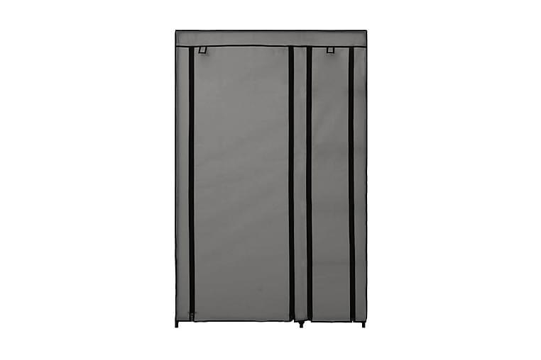 Foldbart Klædeskab 110 X 45 X 175 Cm Stof Grå - Grå - Møbler - Opbevaring - Garderobeskabe