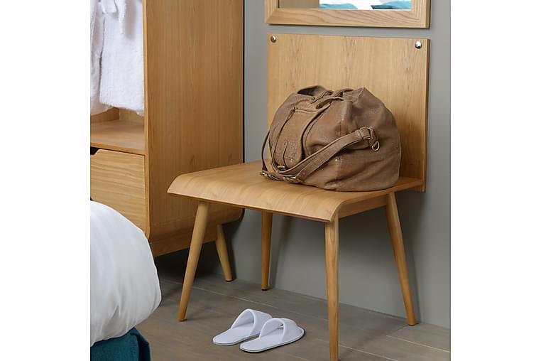 Garderobe 85 cm - Træ / natur - Møbler - Opbevaring - Garderobeskabe
