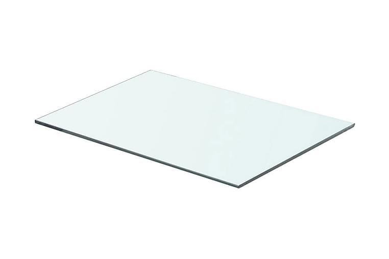 Hylde Glaspanel Klar 50X30 Cm - gennemsigtig - Møbler - Opbevaring - Garderobeskabe