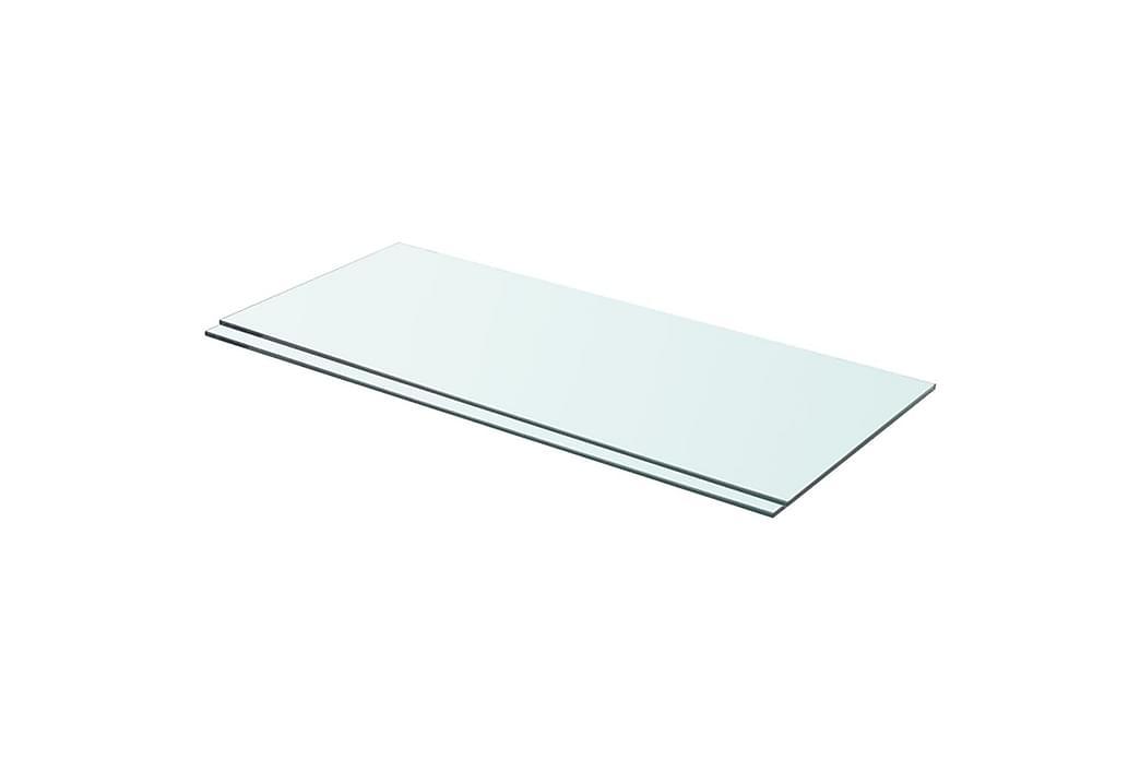 hylder 2 stk. glaspanel 70 x 30 cm klar - gennemsigtig - Møbler - Opbevaring - Garderobeskabe