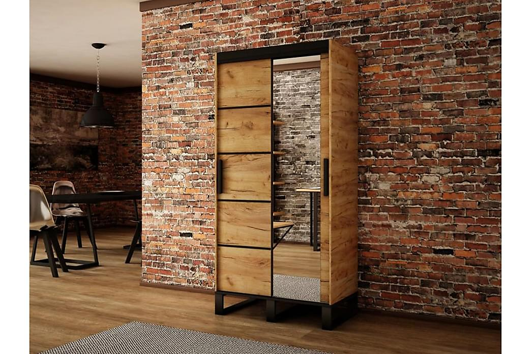 Loft garderobe 150x62x212 cm - Møbler - Opbevaring - Garderobeskabe