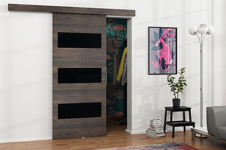 Malibu dør 220x106x205 cm - Møbler - Opbevaring - Garderobeskabe
