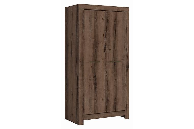 Olender Garderobe 98x195 cm - Træ/natur - Møbler - Opbevaring - Garderobeskabe