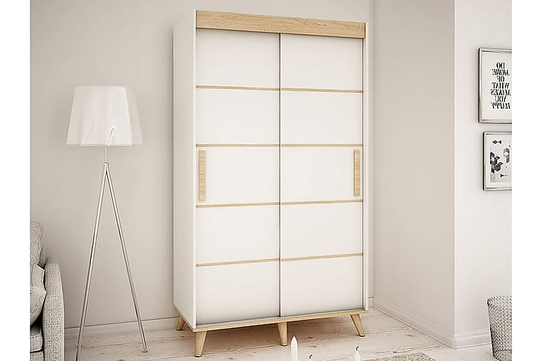 Skandi garderobe 150x62x208 cm - Møbler - Opbevaring - Garderobeskabe