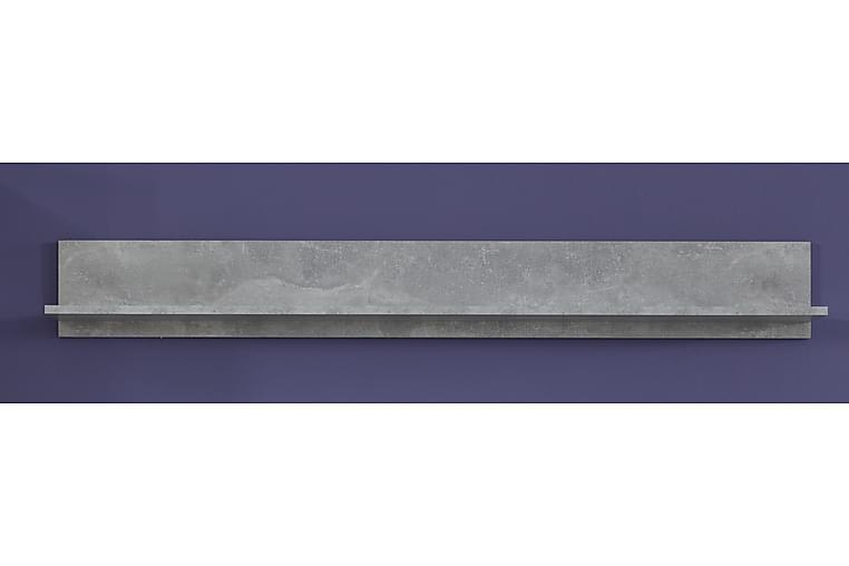 Curella væghylde - Grå - Møbler - Opbevaring - Hylder & Reoler