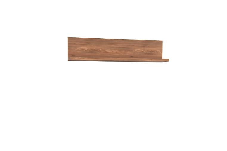 Keoisha Hylde 148x34 cm - Brun - Møbler - Opbevaring - Hylder & Reoler