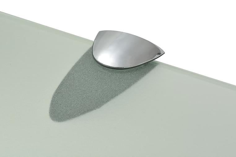 Svævehylde Glas 100X10 Cm 8 Mm - gennemsigtig - Møbler - Opbevaring - Hylder & Reoler