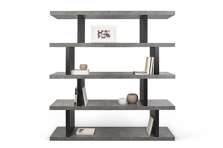 Temahome Laurena Bogreol 163 cm - Beton - Møbler - Opbevaring - Hylder & Reoler