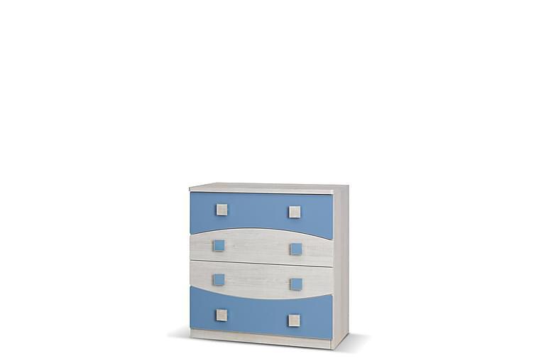Melda Kommode 80 cm - Blå - Møbler - Opbevaring - Kommode