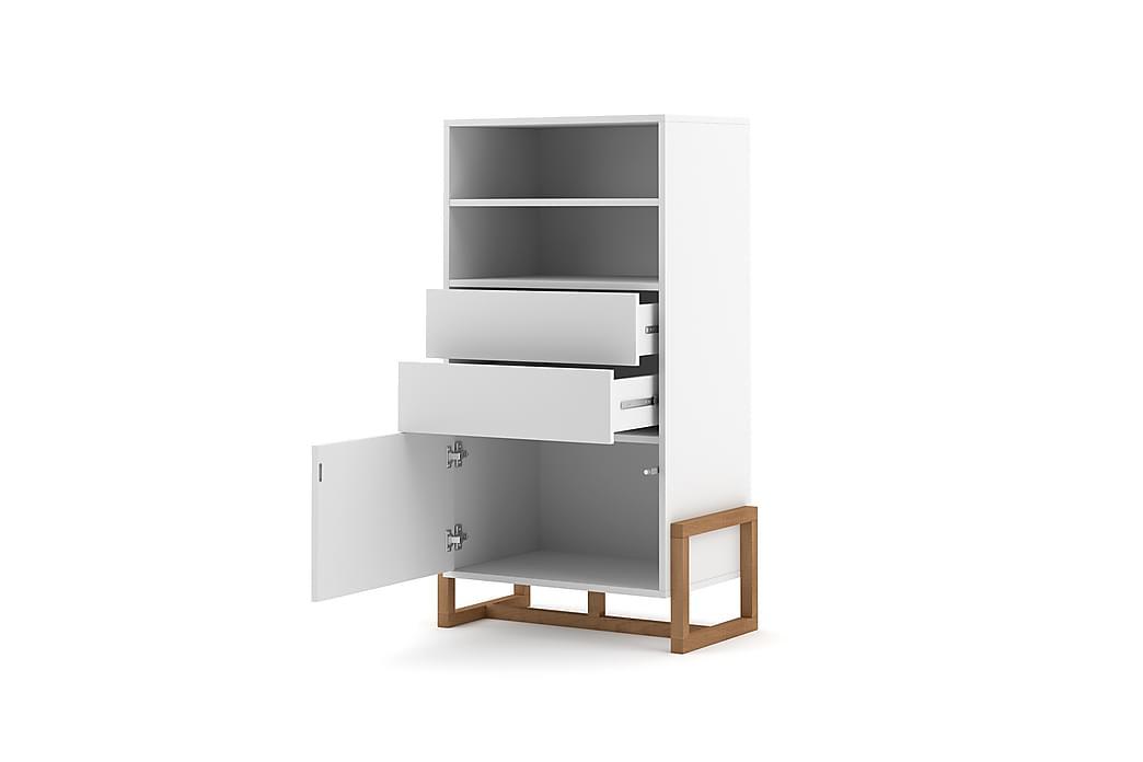 Braco skænk 42x64 cm - Hvid / natur - Møbler - Opbevaring - Skænke & sideboards