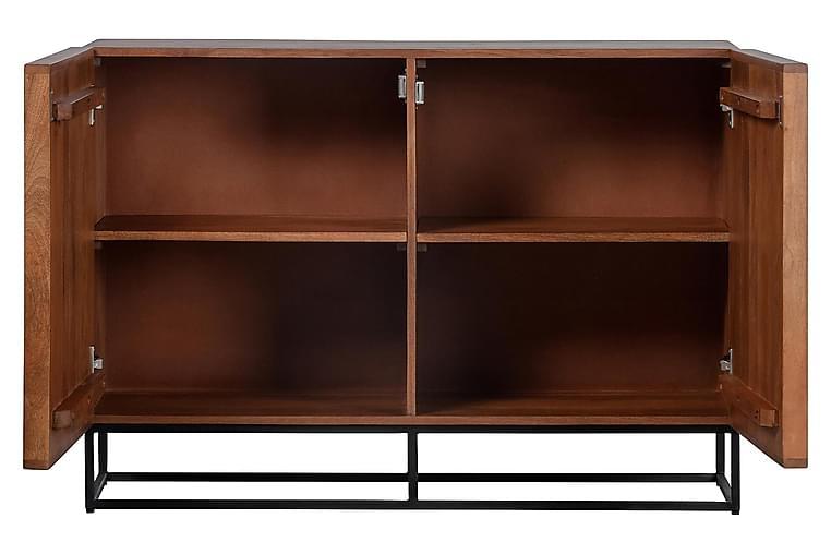 Forrestina Skænk 107x40 cm - Mangotræ / Beige - Møbler - Opbevaring - Skænke & sideboards