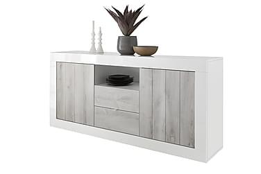 Urbino sideboard Hvid/gråpigmenterede egelook