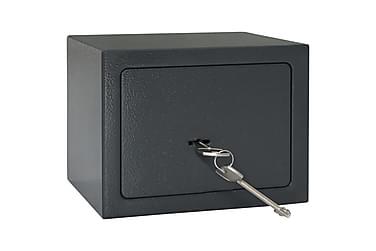 Mekanisk Sikkerhedsboks Stål 23 X 17 X 17 Cm Mørkegrå