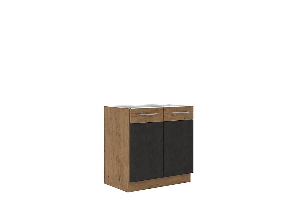 Narbonne Køkkenskab 52x80 cm - Eg - Møbler - Opbevaring - Skabe