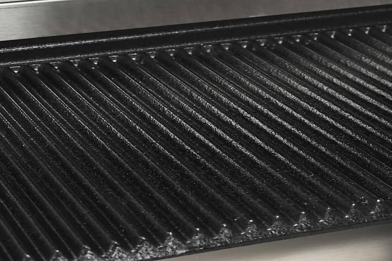 Rillet Paninigrill 2200 W 44 X 41 X 19 Cm - Sølv - Møbler - Opbevaring - Skoopbevaring
