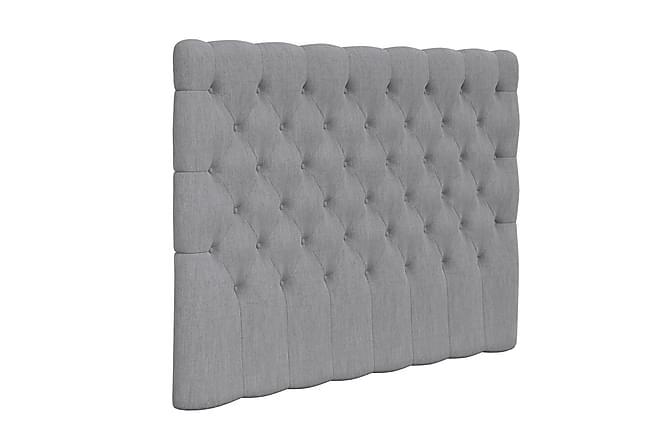 Hilton Lyx Komplet Sengepakke 180x210 - Lysegrå - Møbler - Senge - Komplet sengepakke