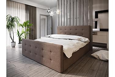 Roma sengepakke 160x200 knappet Gavl