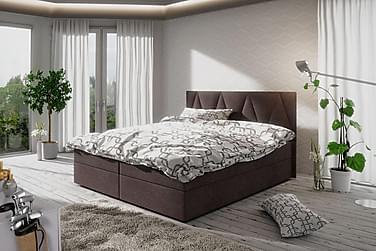 Stephanie sengepakke 160x200 mønstret Gavl