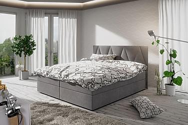 Stephanie sengepakke 180x200 mønstret Gavl
