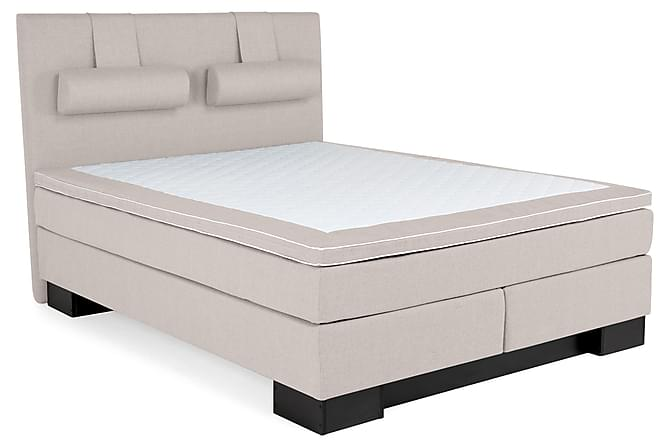 Hilton Lyx Komplet Sengepakke 160 - Beige - Møbler - Senge - Komplet sengepakke