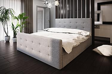 Roma sengepakke 180x200 knappet Gavl