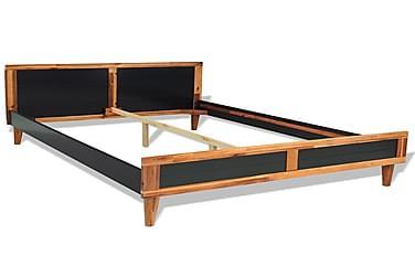 Møbelsæt Til Soveværelset Fire Dele Akacietræ 140X200Cm
