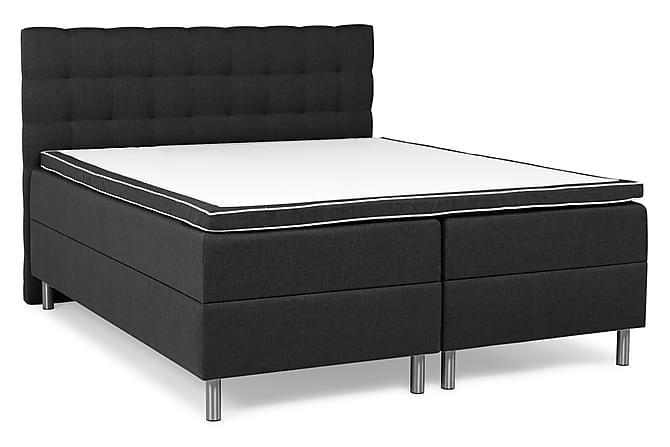 Montana Box Bed 160x200 - Mørkegrå - Møbler - Senge - Dobbeltsenge