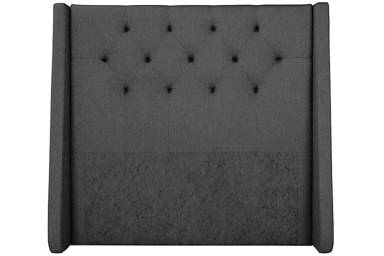 Imperia sengegavl 140 cm - mørkegrå - Møbler - Senge - Sengegavle