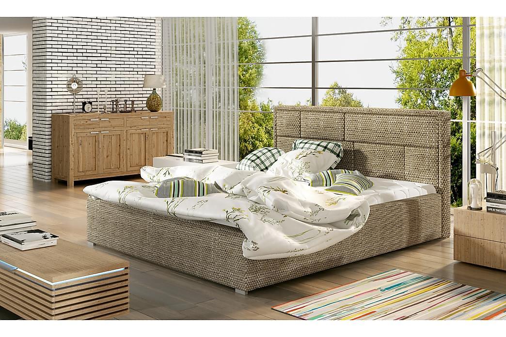 Leganiel sengeramme 160x200 cm - Beige - Møbler - Senge - Sengeramme & sengestel