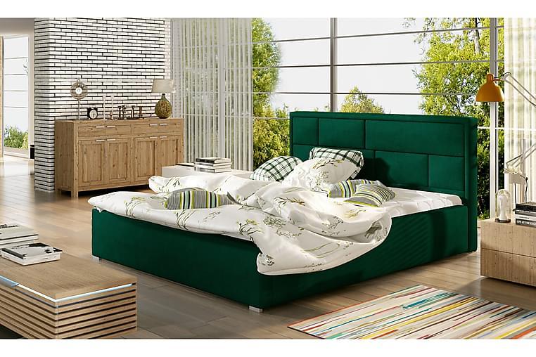Leganiel sengeramme 180x200 cm - Grøn - Møbler - Senge - Sengeramme & sengestel