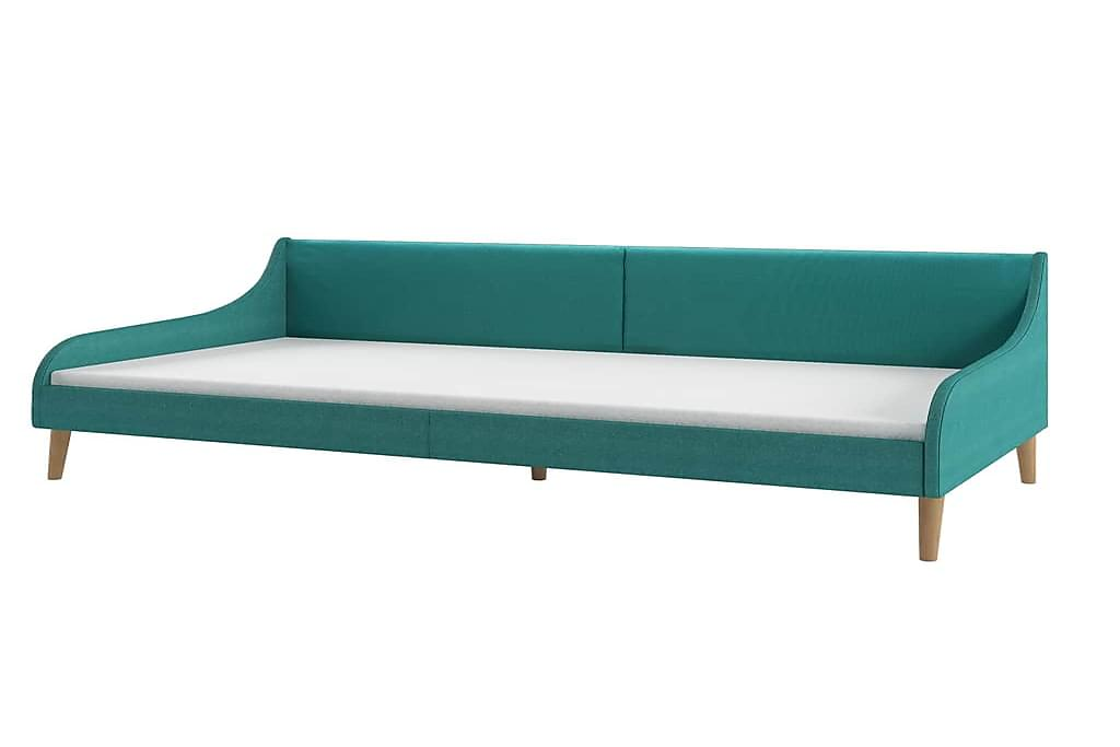 Sovesofastel Stof Grøn - Grøn - Møbler - Senge - Sengeramme & sengestel