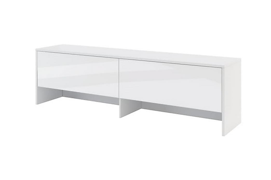 Overskab Hvid Højglans - Bed Concept - Møbler - Senge - Sengeskab