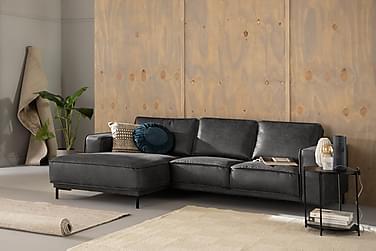Akron 2-pers. Sofa med Diva venstre bonded læder