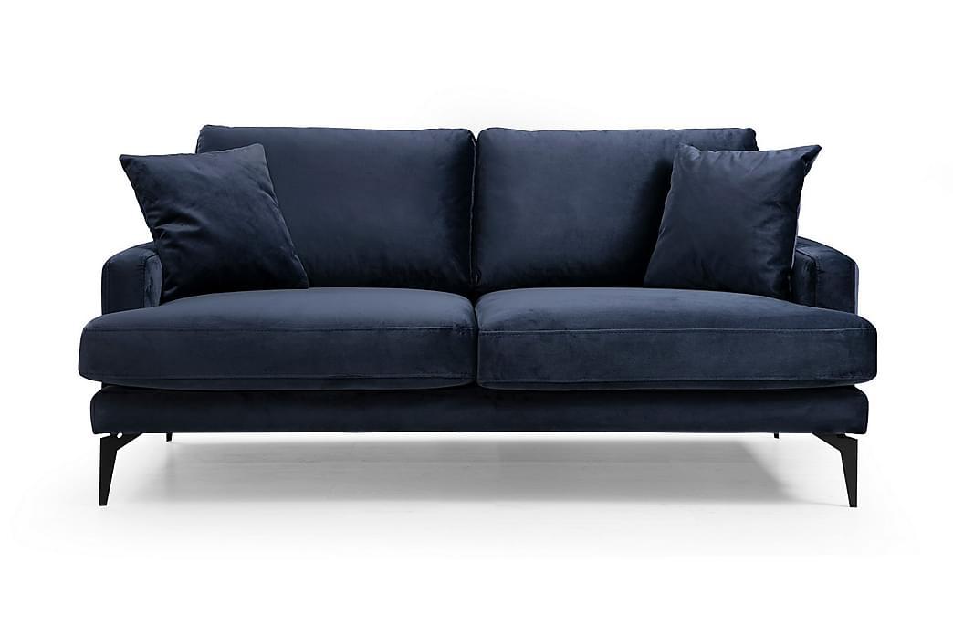 Andary 2-Pers. Sofa - Blå - Møbler - Sofaer - 2 - 4 Personers sofaer