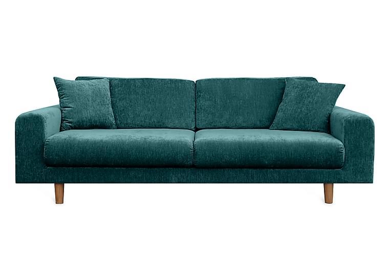 Boel 4-personers sofa - Blå - Møbler - Sofaer - 2 - 4 Personers sofaer