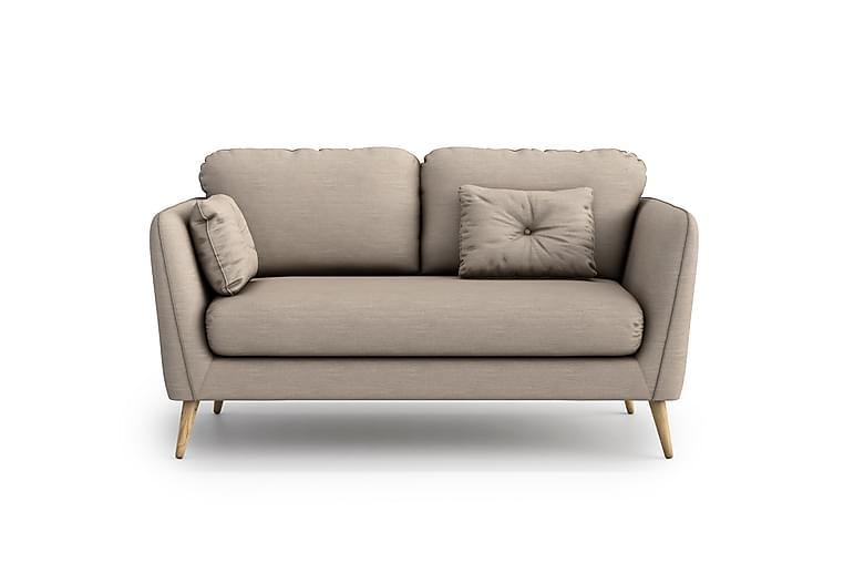 Claravik 2-pers. Sofa - Beige - Møbler - Sofaer - 2 - 4 Personers sofaer