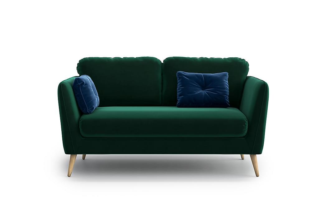 Claravik 2-pers. Sofa - Grøn - Møbler - Sofaer - 2 - 4 Personers sofaer