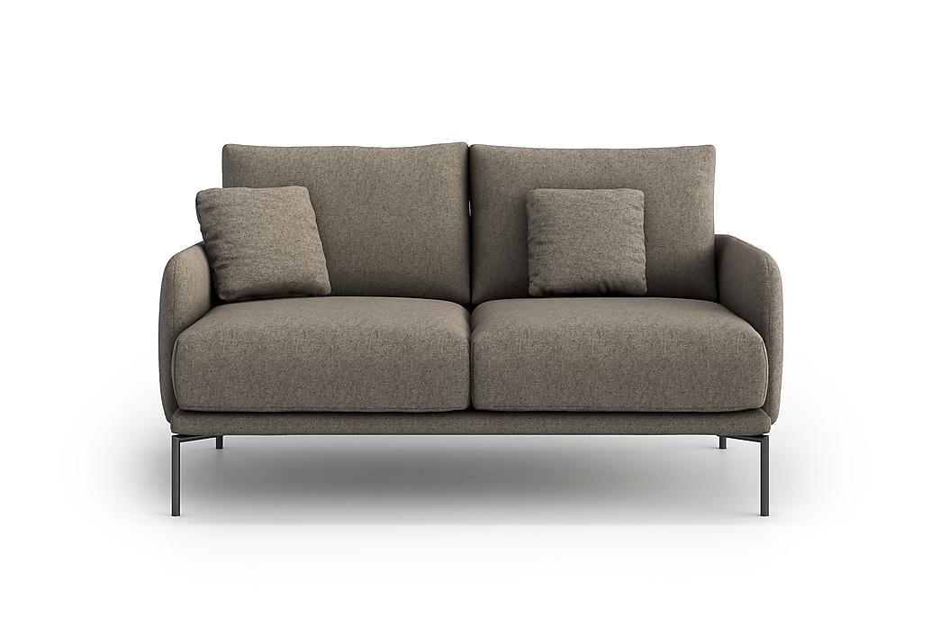 Inessa 2-pers. Sofa - Grå - Møbler - Sofaer - 2 - 4 Personers sofaer