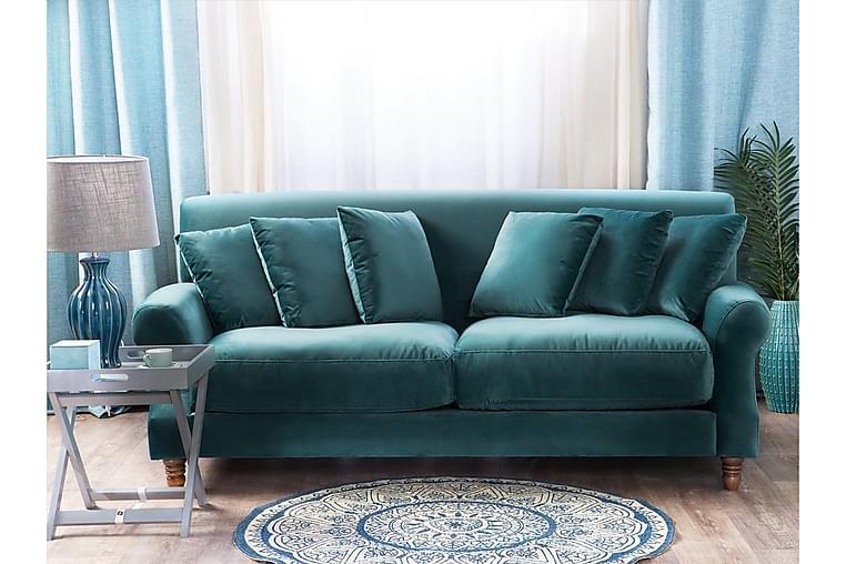 Oak Sofa 2-4 sæder - Blå - Møbler - Sofaer - 2 - 4 Personers sofaer