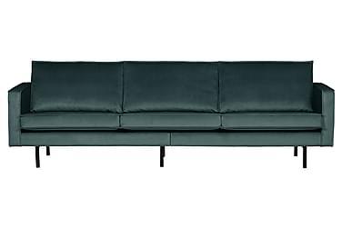 Teton 3-personers sofa velour