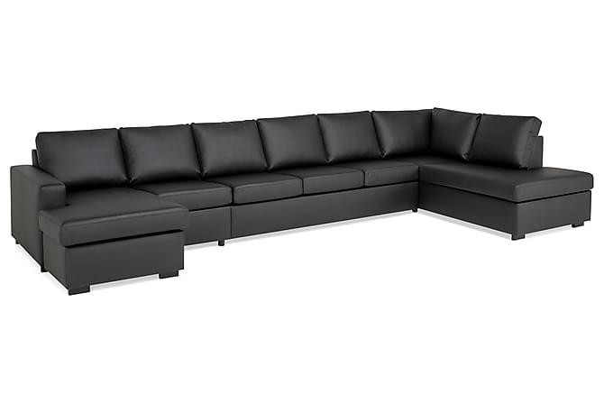 Crazy U-Sofa Gigant Højre - Sort - Møbler - Sofaer - Chaiselongsofa & U-Sofa