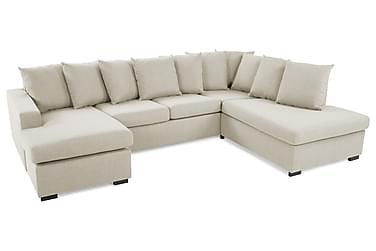 Crazy U-sofa Large højre inkl puder