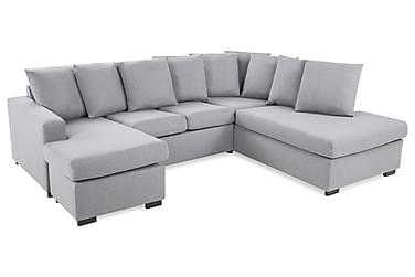 Crazy U-sofa Small diva venstre inkl puder