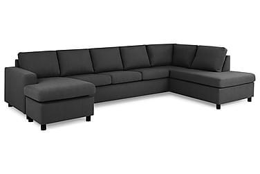 Crazy U-sofa XL diva venstre