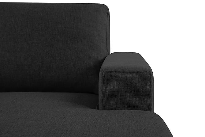 crazy u sofa xxl venstre antracitgr. Black Bedroom Furniture Sets. Home Design Ideas